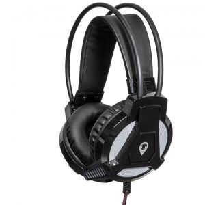 AC-HPM-BLK: Classroom Headset, angled view