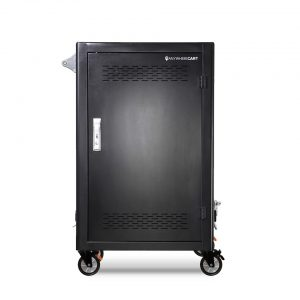 AC-LITE-PW45: Pre-Wired 30 Bay Secure Charging Cart, Front Door Closed View