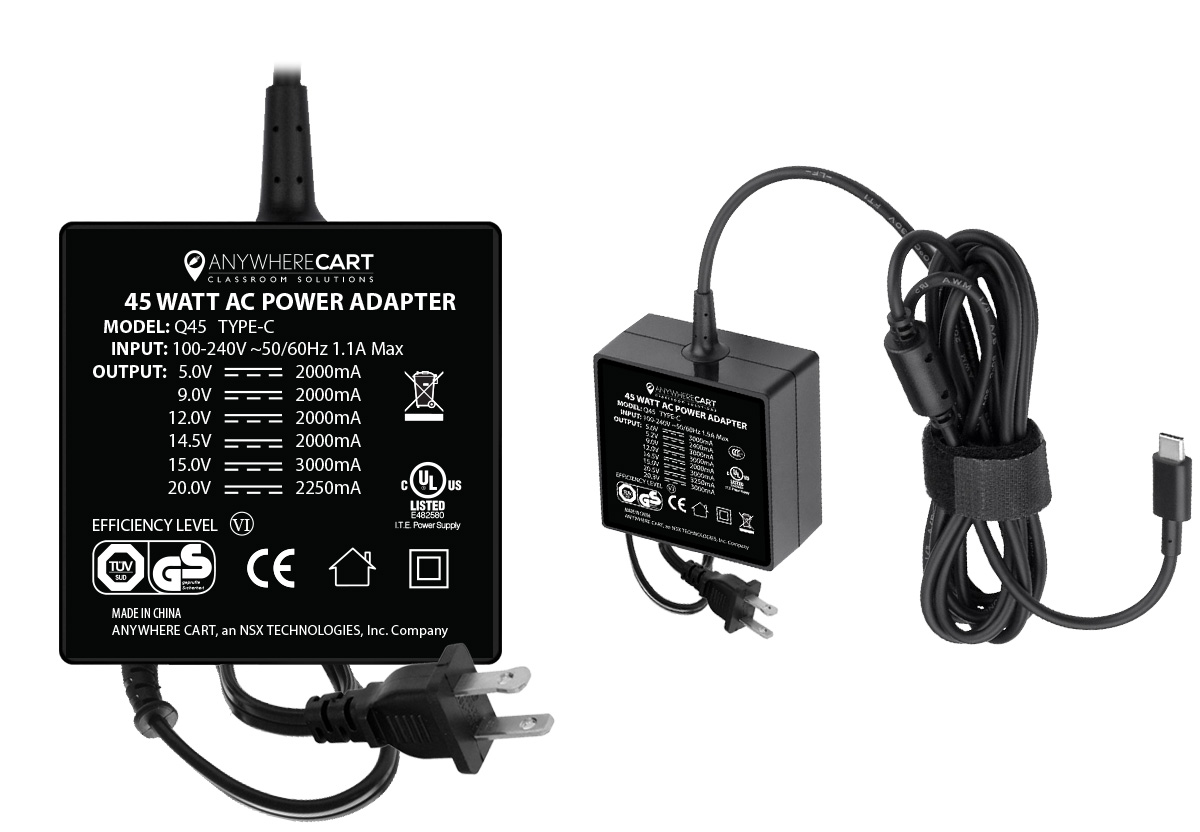 AC-45W: USB-C Power Adapter
