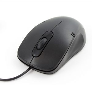 AC-MOUSE: Wired USB Mouse, Front view