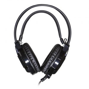 AC-HPM-BLK: Classroom Headset, front view