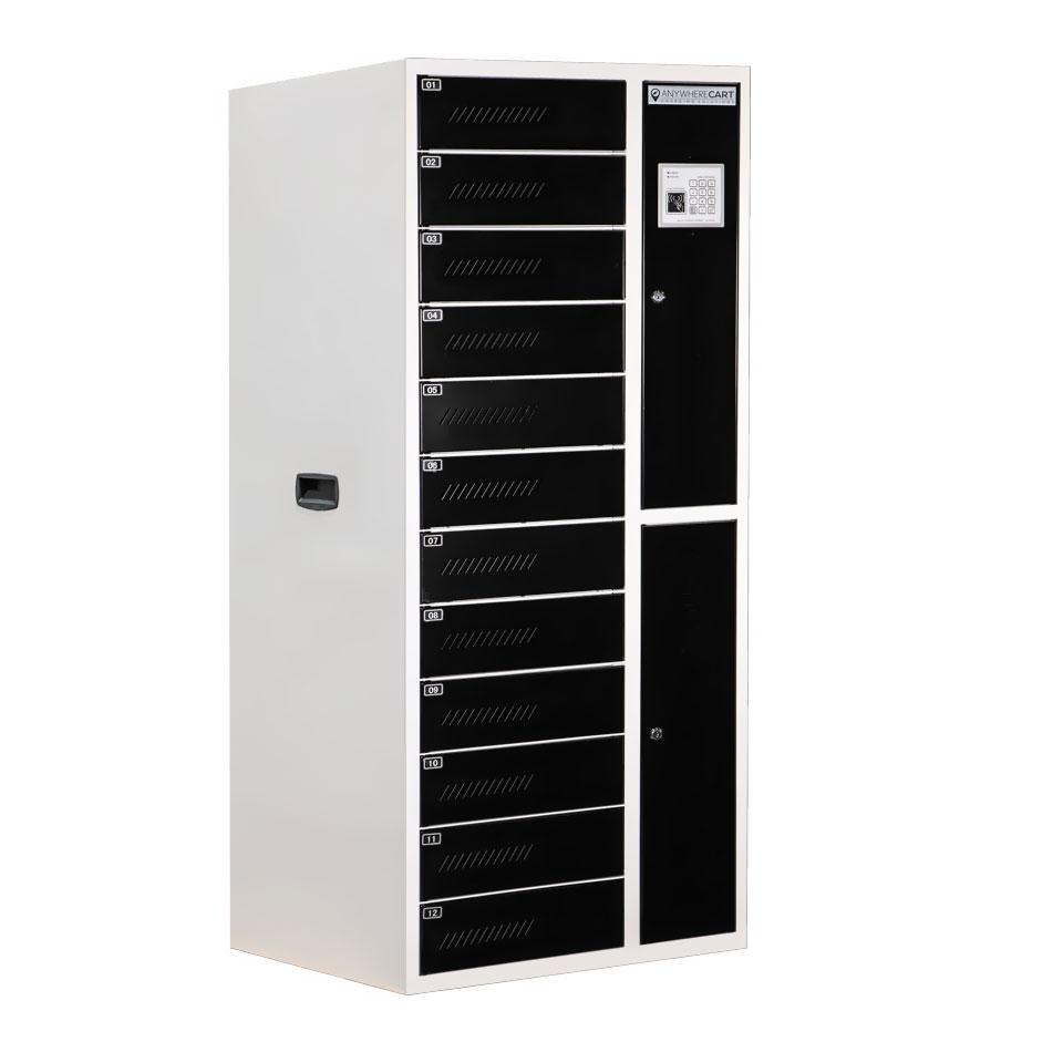 AC-LOCKER-12-RFID, Closed Doors View