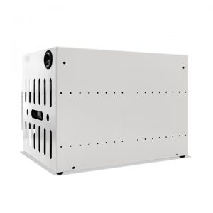 AC-COMP-16: 16 Bay Secure Charging Cabinet, Back View