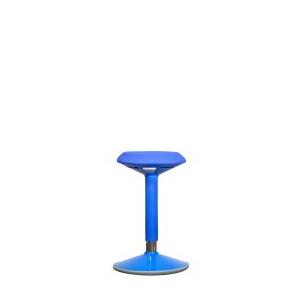 AC-WC-BLUE: Height Adjustable Wobble Chair