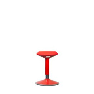 AC-WC-RED: Height Adjustable Wobble Chair
