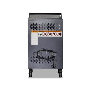 AC-30: 30 Bay Secure Charging Cart, Side View