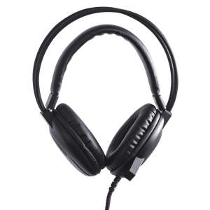 Anywhere Cart AC-HPM-BLK Classroom Headset: Front Image