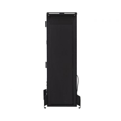 Anywhere Cart AC-VERT-16 Secure Charging Tower: Back View with Stand Image (Stand not included)