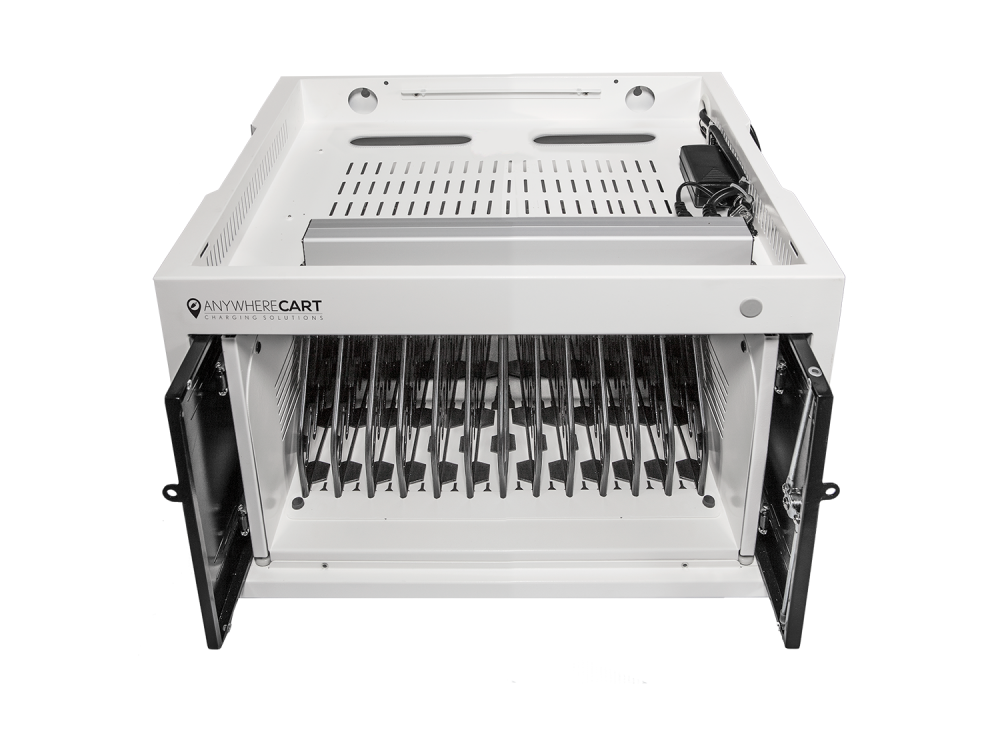 Anywhere Cart AC-MINI 12 Bay Secure Charging Cabinet: Removable Top Panel Image