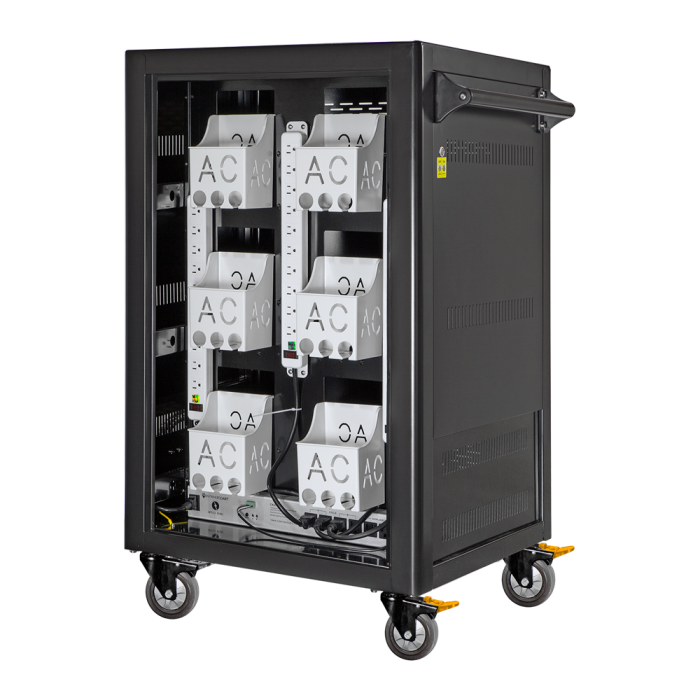 Anywhere Cart AC-LITE: 30 Bay Cycle Charging Cart, Back image