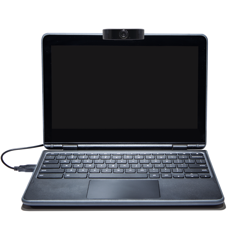 Anywhere Cart AC-WBCM-1080: Universal HD Webcam, Shown On Laptop (not included)