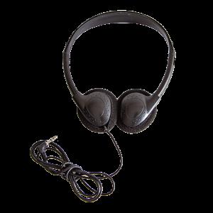 Anywhere Cart AC-BASIC-HPH: Basic Headphones, Front image