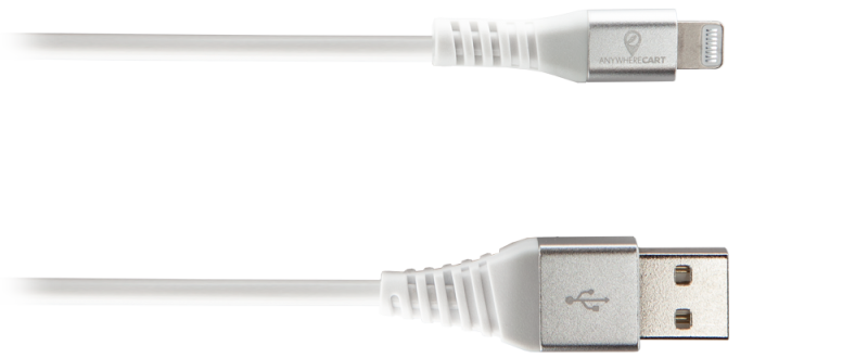 Anywhere Cart AC-3-MFI: Apple MFi Certified USB to Lightning Cable, Gen 2 Connectors image