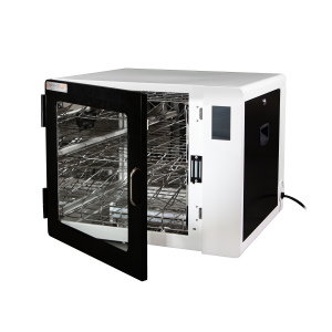 Anywhere Cart AC-CLEAN: Configurable UVC Sanitizing Cabinet - Open image