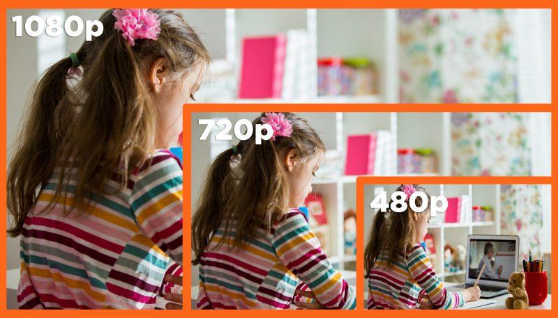 Anywhere Cart AC-WBCM-1080: Resolution comparison image
