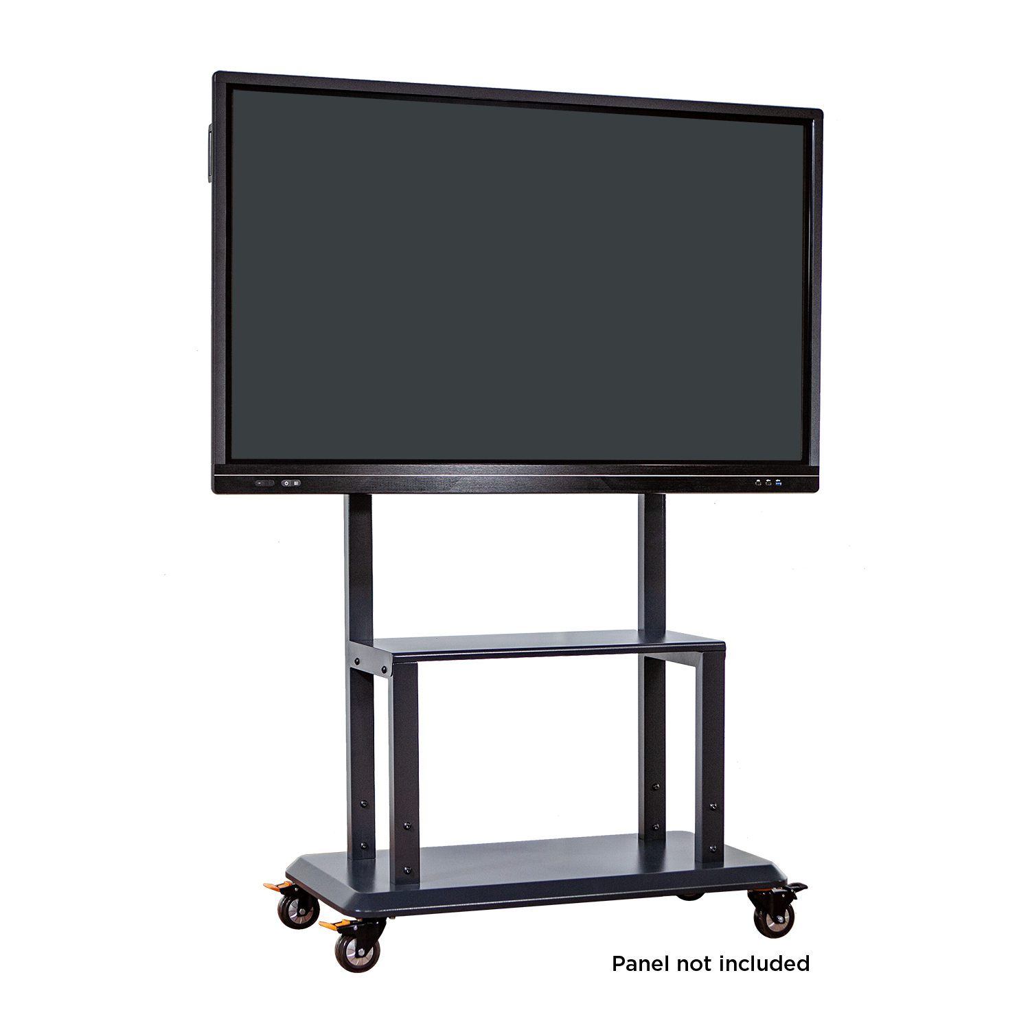Anywhere Cart AC-STAND: Interactive Flat Panel Cart / Stand - Front image (panel not included)